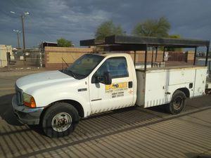 1999 F-350 Powerstroke Diesel utility work truck for Sale in Peoria, AZ