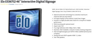 2 large Touch Screens aka interactive digital signage for Sale in Torrance, CA