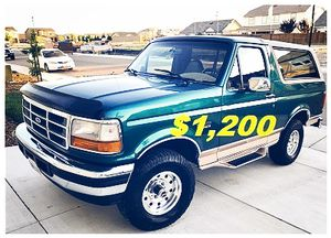 🎁🎁One Owner 1996 Ford Bronco 🎁🎁 for Sale in Washington, DC