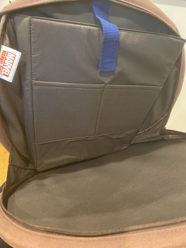 Marvel Captain America Shield Backpack - small crack - can deliver