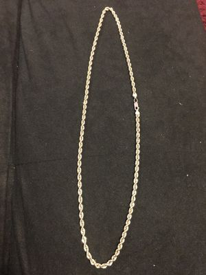 Gold rope chain for Sale in Fort Bliss, TX