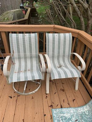 Patio table with 4 chairs for Sale in Fairfax, VA