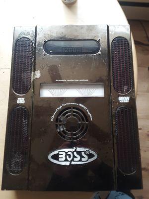 1200 watt boss amp/sdx pro audio amplifier for Sale in Bethel, OH