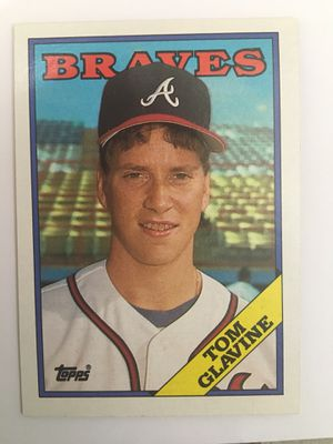 Rare and Sought After TOM GLAVINE Topps Baseball Card for Sale in Yorba Linda, CA