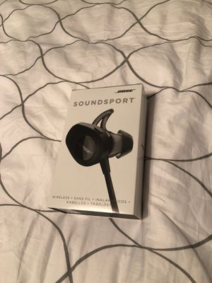 BOSE Soundsport Wireless Earbuds (NEW) for Sale in Richardson, TX