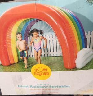 Giant rainbow sprinkler for Sale in San Bernardino, CA