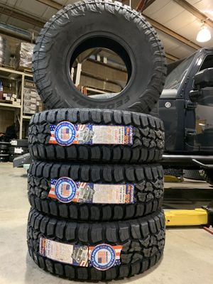 "37 12.5 17"" Rt all terrain tires brand new perfect for lifted jeep truck $1099 set of 4 for Sale in Rockdale, IL"
