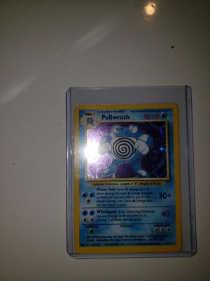 Pokemon 98 Holo Poilwarth Card for Sale in Staten Island, NY