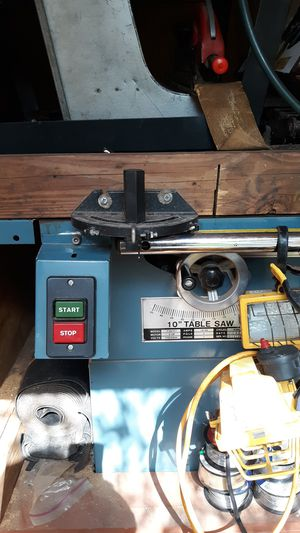 Table saw 10 in for Sale in Winter Haven, FL