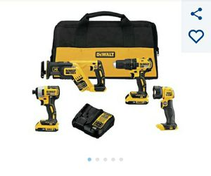 Dewalt power tool kit combo NEW 4pc for Sale in Columbus, OH