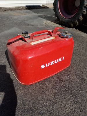Suzuki outboard motor boat fuel tank for Sale in Melrose Park, IL