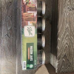 16 Oz Wide Mouth Mason Jars for Sale in Corona, CA