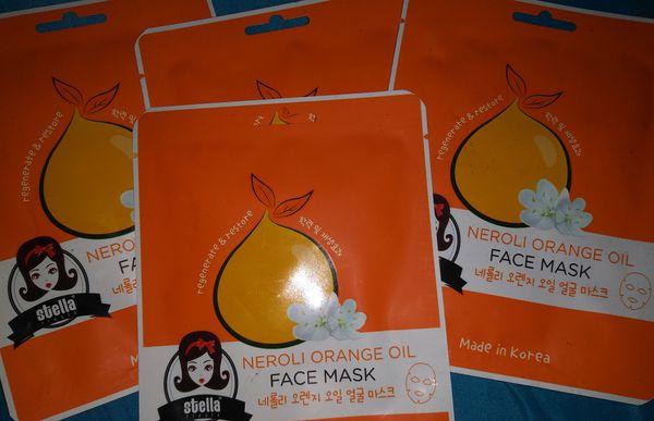 Neroli Orange Oil / Face Mask