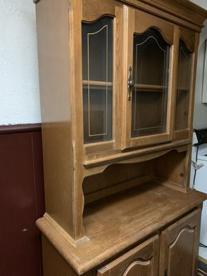 Wooden China Cabinet for Sale in East Lansdowne, PA