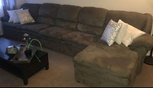 Sectional couches color green... for Sale in Allentown, PA