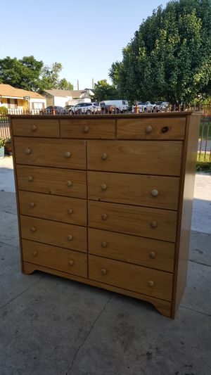 13 drawer dresser for Sale in Fort Worth, TX