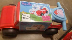 Peppa pig brand nee ride on for Sale in NC, US