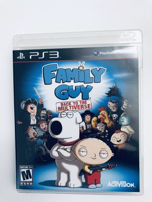 PS3 Video Game Family Guy Back To The Multiverse Tested for Sale in Fuquay-Varina, NC