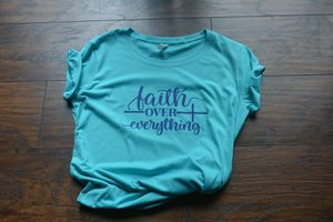Faith over everything custom shirt for Sale in Rock Hill, SC