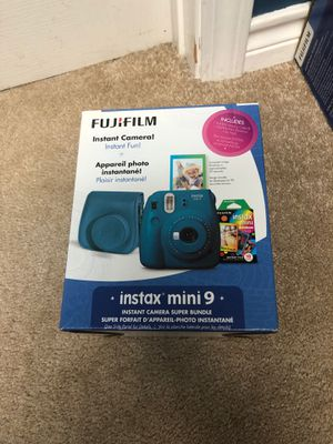 Instax mini 9 bundle for Sale in Westover Air Reserve Base, MA