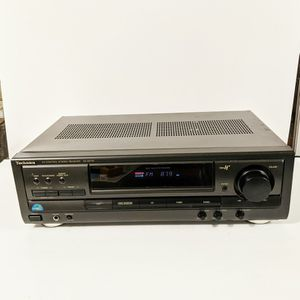 Technics SA-EX110 A/V Stereo Receiver with 200-Watt Amp for Sale in New Port Richey, FL