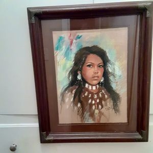 ART NATIVE AMERICAN PAINT BY SHEUL for Sale in Long Beach, CA