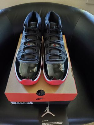 Brand new Air jordan Bred 11's size 13 with original box and card. for Sale in Vancouver, WA