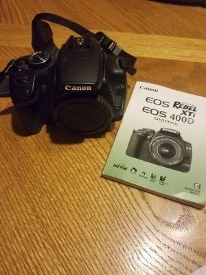 Canon EOS Rebel XTi digital for Sale in Las Vegas, NV