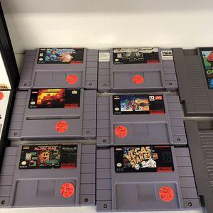 Sega Genesis Nintendo & Super Nintendo games for sale Pawn Shop Casa de Empeño for Sale in Vista, CA