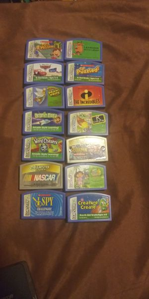Leap frog games $15 each for Sale in Oakland, CA