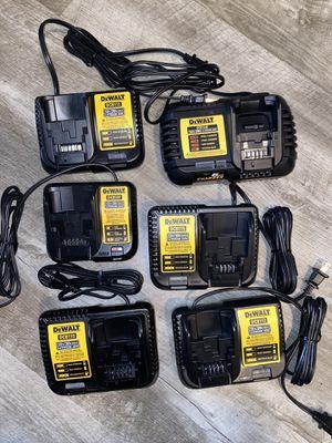 Dewalt chargers for Sale in Auburn, WA