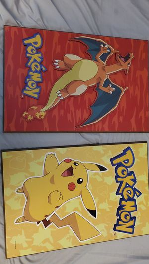 Pokemon wall decor for Sale in Casselberry, FL
