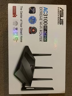 Wi-Fi router Asus AC3100 extreme for Sale in Apple Valley,  CA
