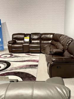 MADRID RECLINING SECTIONAL SOFA SET ON SALE! WE OFFER NO CREDIT NEEDED FINANCING for Sale in Lakeland,  FL