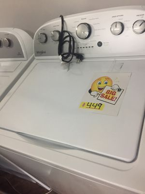 Set of washer dryer new Whirlpool for Sale in Wilton Manors, FL