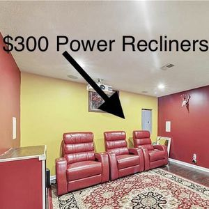 Power Theater Recliner for Sale in Carnegie, PA