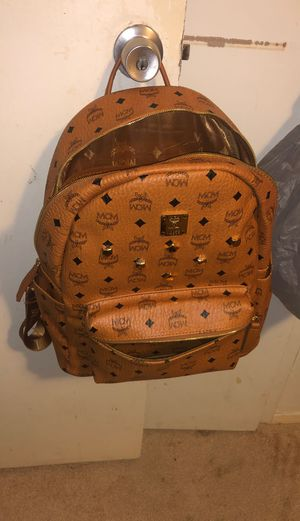 Authentic MCM backpack and Belt for Sale in Mansfield, TX