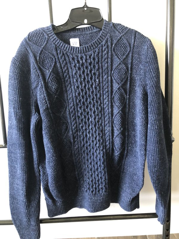 Gap Blue cardigan sweater size medium
