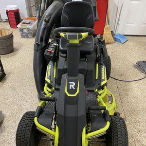 Ryobi RM 480e Riding Electric Lawn Mower for Sale in Corona, CA