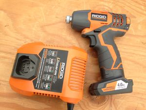 Ridgid 12v impact driver kit for Sale in Los Angeles, CA