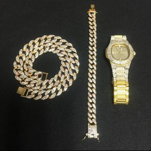 Gold bonded watch, bracelet, necklace combo for Sale in Mansfield, TX