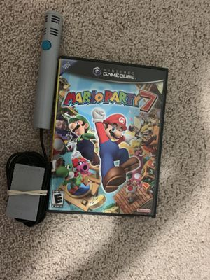Nintendo mario party 7 with mic for Sale in Clackamas, OR