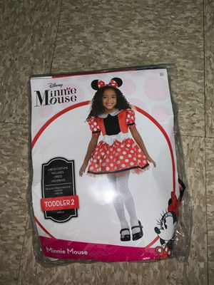 Toddler Minnie Mouse Costume 2T-3T for Sale in The Bronx, NY