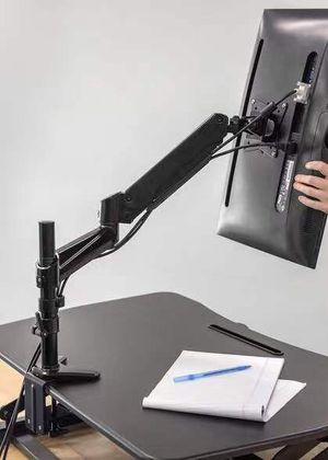NEW 15 to 27 Inch 360 Degrees Articulating Computer LED LCD Screen Monitor Mount Bracket Stand Clamp On for Sale in San Dimas, CA