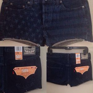 New Americana Levi's 501 shorts, size 0/25 for Sale in Austin, TX