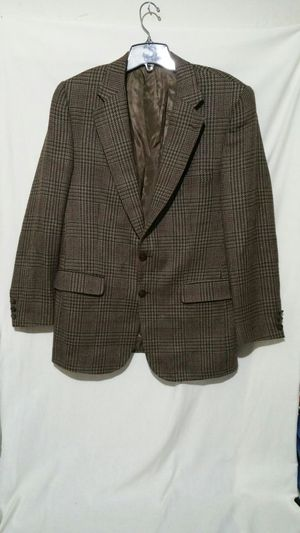 Burberry Tweed Plaid Blazer Sport Coat for Sale in Winston-Salem, NC