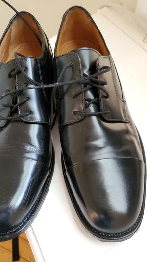 Bostonian mens size 11 black dress shoes wedding formal for Sale in Chicago, IL