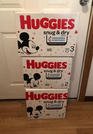 HUGGIES DIAPERS $20 EACH BOX for Sale in Wauchula, FL