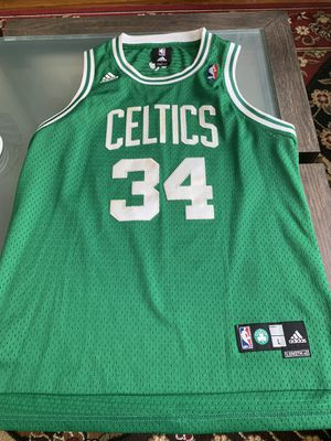 Adidas Boston Celtics Paul Pierce Jersey for Sale in Queens, NY