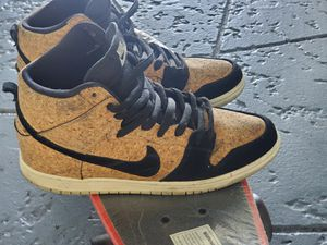 Nike SB High Dunk Cork OG Size 10 Pre-Owned Good Condition for Sale in North Miami Beach, FL